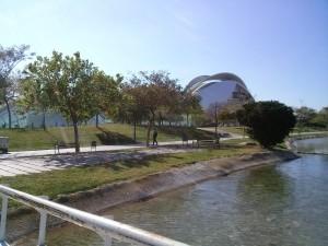Alrededores de la Ciudad de las Artes de Valencia