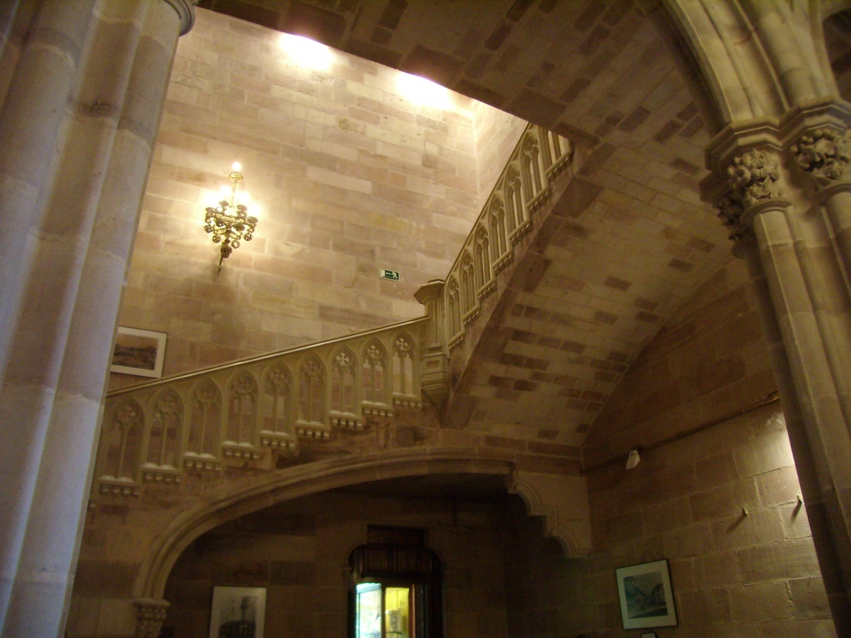 Interior Palacio de Sobrellano