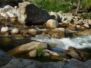 Saltos de agua en La Vera